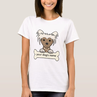 Personalisierter Chinese Crested T-Shirt