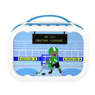 Personalisierter Eis-Hockeystern