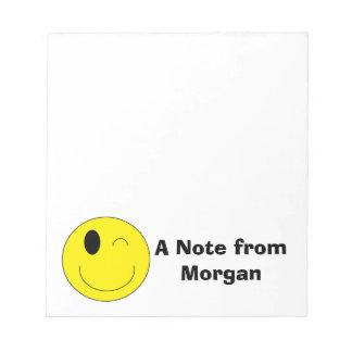 Personalisierter Emoji Notizblock