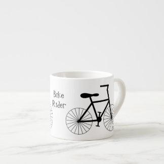 Personalisierter Fahrrad-Entwurf Espressotasse