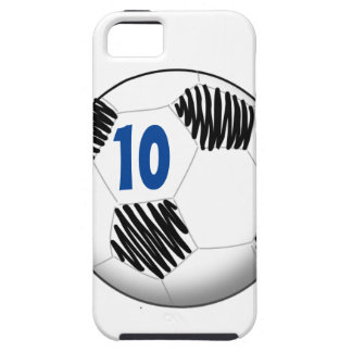 Personalisierter Fußbalball iPhone Fall iPhone 5 Cover