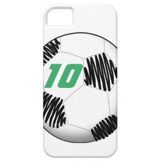 Personalisierter Fußbalball iPhone Fall iPhone 5 Schutzhülle