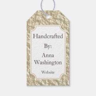 Personalisierter goldener Handcrafted Umbau Geschenkanhänger