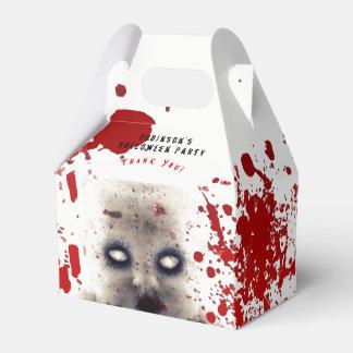 Personalisierter HALLOWEEN-Giebel-Kasten CREEPY Geschenkschachtel