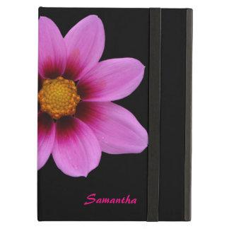 Personalisierter iPad Airfoliofall der Chic-rosa