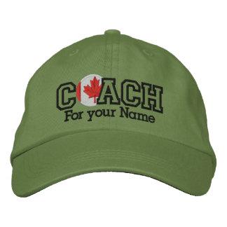 Personalisierter kanadischer Trainer mit Ihrem Bestickte Caps