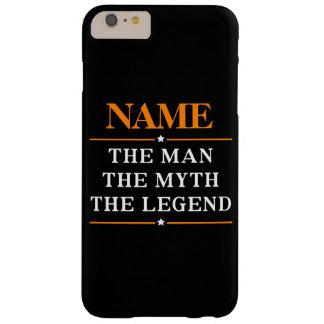 Personalisierter Name der Mann der Mythos die Barely There iPhone 6 Plus Hülle