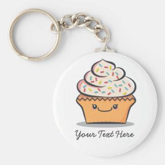 Personalisierter niedlicher kleiner Kuchen Schlüsselanhänger