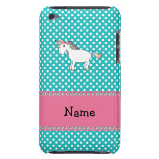 Personalisierter niedlicher Namensunicorn iPod Touch Case