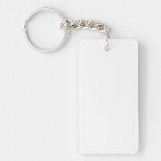 Personalisierter rechteckiger Schlüsselanhänger
