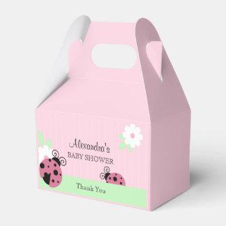 Personalisierter rosa geschenkschachtel