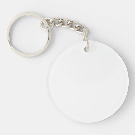 Rund (doppelseitig) Schlüsselanhänger
