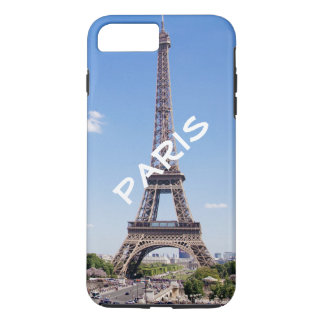 Personalisierter Turm Chic-Paris Eiffel iPhone 8 Plus/7 Plus Hülle