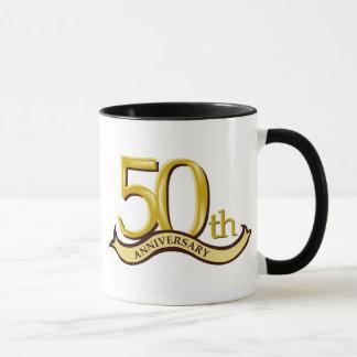 Personalisiertes 50. Jahrestags-Geschenk Tasse
