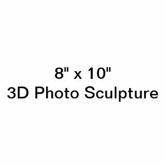 "Personalisiertes 8"" x 10"" Foto-Skulptur Freistehende Fotoskulptur"