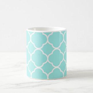 Personalisiertes einfaches elegantes grünes tasse