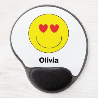 Personalisiertes Emoji Gel Mousepad