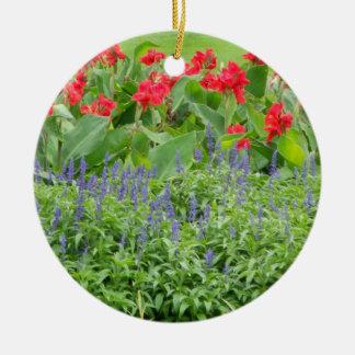 Personalisiertes Foto-runde Keramik-Verzierung Keramik Ornament