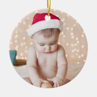 Personalisiertes Foto-und Keramik Ornament