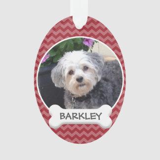 Personalisiertes Haustier-Foto mit dem Ornament