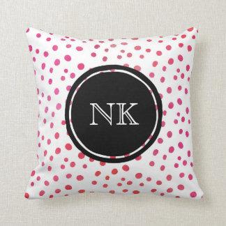 Personalisiertes Kissen der rosa Stelle