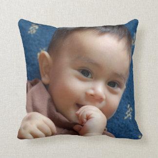 Personalisiertes kundenspezifisches Foto-Kissen Kissen