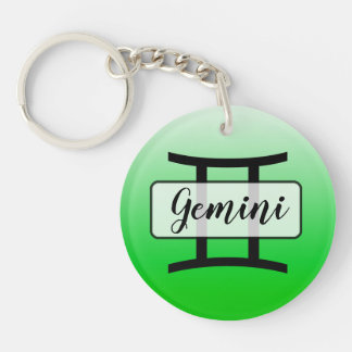 Personalisiertes Limones grünes Schlüsselanhänger