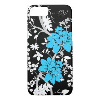 Personalisiertes modernes Blumen iPhone 7 Hülle