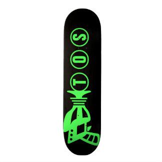 Personalisiertes Raum-Gewehr Individuelle Skateboards