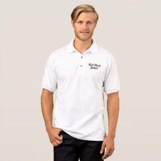 Personalisiertes schwarzes Skript BTMF Polo Shirt