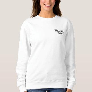 Personalisiertes schwarzes Skript BTMF Sweatshirt