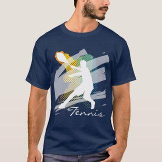 Personalisiertes Tennis-T-Shirt für Männer T-Shirt