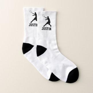 Personalisiertes Tennis trifft Geschenk für Socken