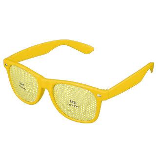Personifizieren Sie Partybrille