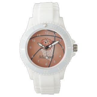 Personifizieren Sie sportlichen Basketball Armbanduhr