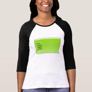 Persönlich simsen Sie Blase - Zwischenlage vier T-Shirt