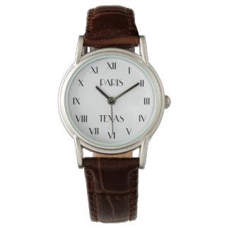Persönliche Mitteilung PARIS TEXAS | Armbanduhr