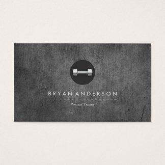Persönliche Trainer-Logo-Visitenkarte Visitenkarten