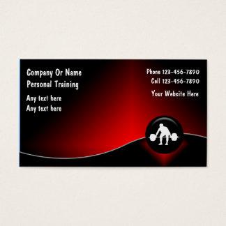 Persönliche Trainer-Visitenkarten Visitenkarten