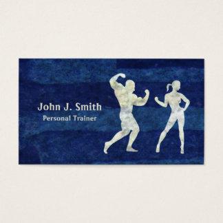 Persönlicher Trainer-menschliche Körper Visitenkarten