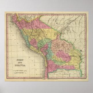 Peru und Bolivien 2 Poster