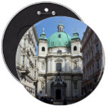 Peterskirche Wien Österreich Runder Button 15,3 Cm