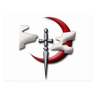 Pfadfinder-Innungs-Symbol Postkarte