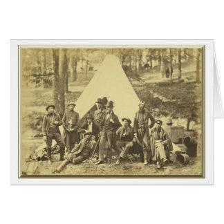 Pfadfinder und Führer zur Armee des Potomacs Karte