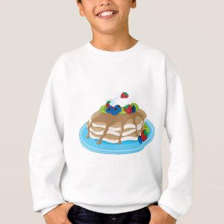 Pfannkuchen-Frucht Sweatshirt