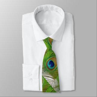 Pfau-Feder Bedruckte Krawatte