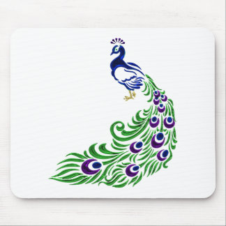 Pfau-Geschenke Mauspad