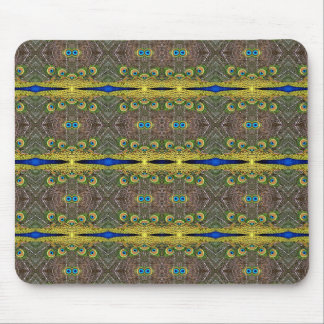 Pfau-Kaleidoskop Mauspad