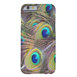 Pfau versieht schönen iphone 6 Kasten mit Federn Barely There iPhone 6 Hülle