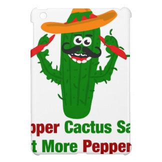 Pfeffer-Kaktus sagt essen mehr Paprikaschoten iPad Mini Hülle